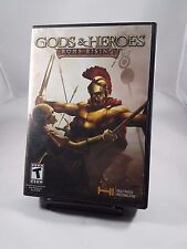 Gods And Heroes Rome Rising PC Video Game W/ Manual