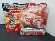 Hasbro TRANSFORMERS 2004 RID Energon Powerlinx Silver HOT SHOT Figure Sealed NEW