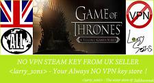 Juego de tronos: una serie de juegos revelador (todos EP) no clave de vapor VPN región libre