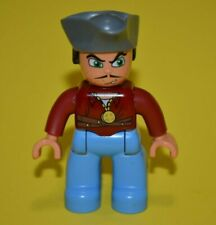 Lego Duplo 7881 PIRATE Mini Figure Male Vintage building toy ship mate