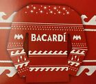 Ugly Bacardi Rum Christmas Sweater Unisex One Size Fits Most Red White in July