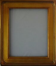 """Sophisticated Colonial Plein Air PAINT Picture Frame 3.5"""" Wood Gold Leaf 8 x 10"""