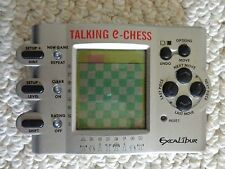 Talking-e-Chess by Excalibur Handheld Game Model 410V  made in China (#2398)