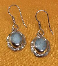 Vintage 925 Mexico Sterling Silver Dangling Earrings Fine Jewelry