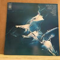 WEATHER REPORT Weather Report 1970s UK vinyl LP EXCELLENT CONDITION same debut