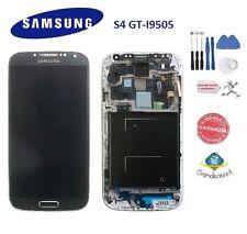 LCD DISPLAY Samsung Galaxy S4 I9505 GRIGIO FRAME SCHERMO TITAN MONITOR NUOVO