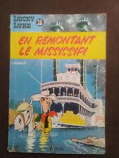 Lucky Luke 16 EO En remontant le Mississipi 1961