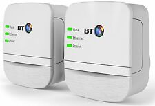 Wifi Internet Range Extender Broadband 600Mbps Powerline BT Adapter HD 3D Stream