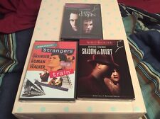 Alfred Hitchcock Torn Curtain Shadow Of A Doubt Strangers On A Train Htf Dvds