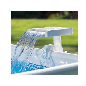 Intex 28090 waterfall multicolored lamp for above ground pool including hook