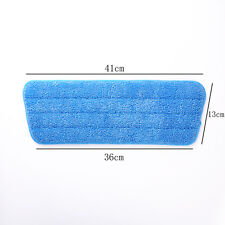 1X Floor Cleaning Replacement Microfiber Pads Spray Water Spraying Flat Dust Mop