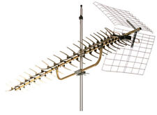NEW Long Range HDTV UHF Antenna 70+ Mile Range! High Performance Quick Assembly