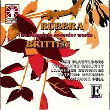 Edmund Rubbra THE COMPLETE RECORDER WORKS & Benjamin Britten