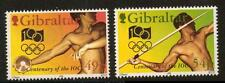 GIBRALTAR SG730/1 1994 CENTENARY OF INTERNATIONAL OLYMPIC COMMI