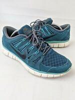 Nike free 5.0 ext Woven Mens Trainer Gym Running Retro UK 9.5 EU 44.5