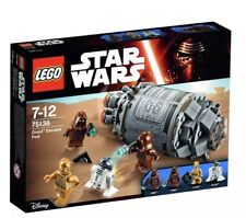 BRAND NEW LEGO STAR WARS DROID ESCAPE POD 75136 Retired With Free Shipping