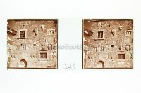 Florence Firenze Italia Placca Stereo Positive Vintage
