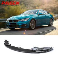 Fit For 2014-2019 BMW F32 F33 F36 4 Series M Sport Front Bumper Lip Carbon Fiber