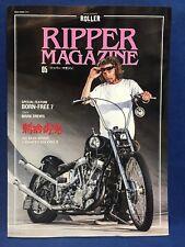 Ripper Magazine Vol.5 Old School Chopper Bike Morterbycycle Japan Mark Drews