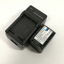 Charger +3000mAh Battery for Sony NP-FV70 NP-FH70 DCR-DVD DCR-HC HDR-CX Series