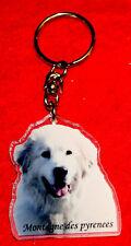 porte-cles chien montagne des pyrenees patou 1 dog keychain llavero perro
