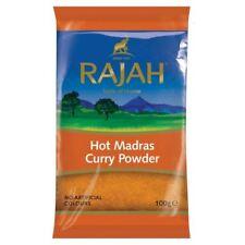 Rajah Hot Madras Curry Powder 100g spice