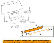 Scion TOYOTA OEM 08-14 xB Liftgate Tailgate Hatch-Molding Trim 7680112A00C0