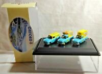 OXFORD 1:76 SCALE FORD ANGLIA VAN WALL'S ICE CREAM SET - 76SET01 - BOXED