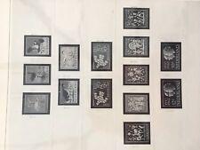 Netherlands Safe dual empty album pages between 1961 - 1973 complete