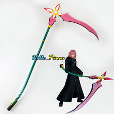 Exclusive Made Kingdom Hearts Marluxia Scythe Keyblade PVC Weapon Cosplay Prop