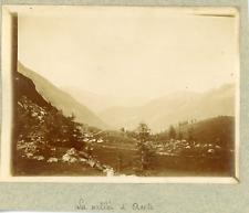 Italie, La vallée d'Aoste, ca.1900, vintage citrate print Vintage citrate p