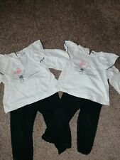 Twin Girls 9-12 Months Trouser Outfits Next Etc