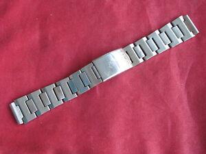 Vintage Seiko Stainless Steel 16.5mm Link Bracelet Wrist Watch Band