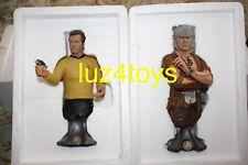 "Titan Merchandise Star Trek Khan Noonien Singh & Captain Kirk 8"" Maxi Busts"