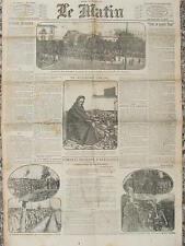 LE MATIN (13/12/1914) Combats d'artillerie - Dangereuse condescendance