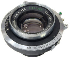 SCHNEIDER Symmar 150mm 5.6 + Synchro Compur