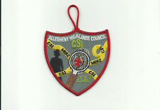 SCOUT BSA 2012 CAMP MERZ ALLEGHENY HIGHLANDS COUNCIL NY PATCH CSI FINGERPRINT !!