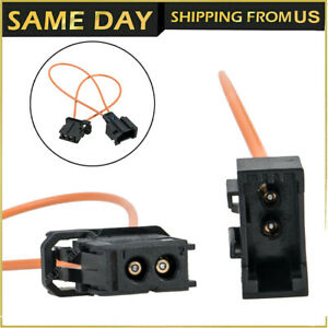 MOST fiber optic loop bypass MALE & FEMALE Kit adapter for BENZ PORSCHE BMW