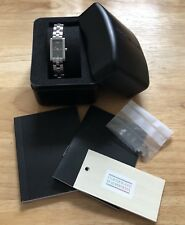 EMPORIO ARMANI Ladies Stainless Steel Watch (with New Battery)