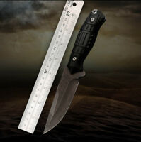 Fixed Blade Hunting Knife Stainless Steel Knives Outdoor Survival Camping