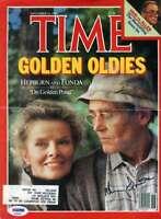 Henry Fonda Psa Dna Coa Hand Signed 8x10 Time Photo Cover Autograph