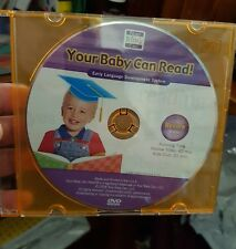 Your Baby Can Read Early Language Development (Disc only)  DVD - FREE POST