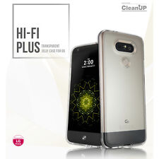 Voia LG G5 B&O Hi-Fi Plus Transparent Clear Soft SmartPhone Jelly Case_NV