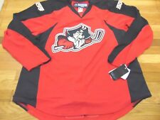 TEAM ISSUED REEBOK AHL PORTLAND PIRATES AUTHENTIC RED JERSEY SIZE 58