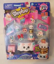 "Shopkins Season 7 Join the Party ""Wedding Party Collection"" - 8 Exclusive - NIP"