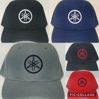 8e57188d YAMAHA Embroidered Baseball Hat Cap Adjustable Strap YAMAHA MC ATV Jet Skis