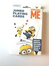 Despicable Me 2 Minion Jumbo Playing Cards Minions Go Fish Rummy Crazy Eights
