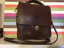 Vintage COACH Willis Station Crossbody Purse Handbag