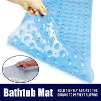 Bathtub Mat Non-Slip Suction Cup PVC Anti-Slip Anti-Bacterial Long Shower Mat