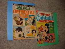 Charlton High School Confidential Diary 1 & Teen-Age Confessions 4 Colletta VG
